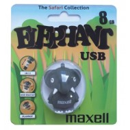Флеш-накопитель Maxell  USB 8GB ANIMAL COLLECTION ELEPHANT М